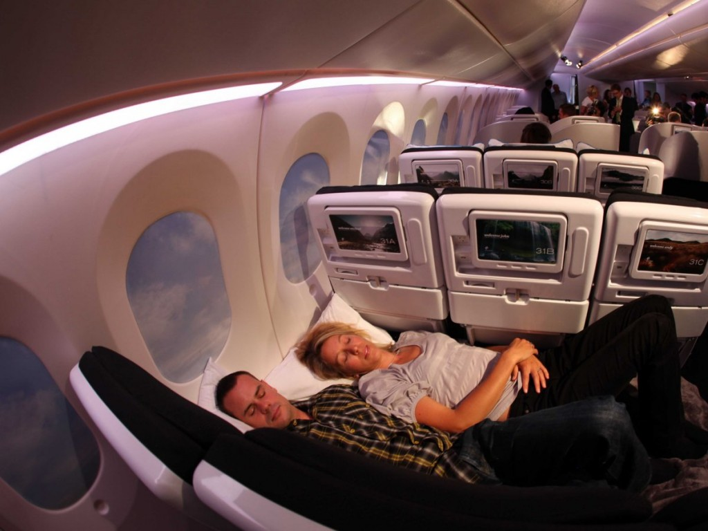 Sleeping on plane with feng shui head support