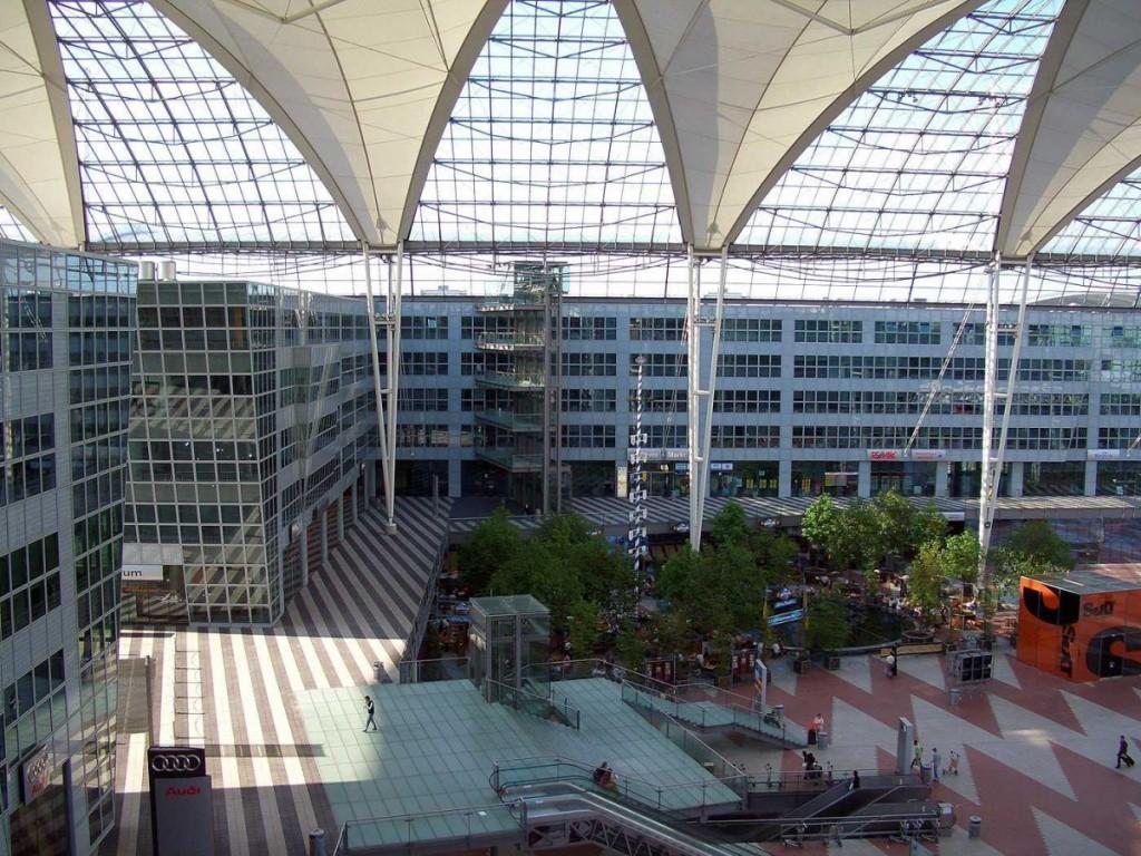 Munich Airport with Indoor Garden