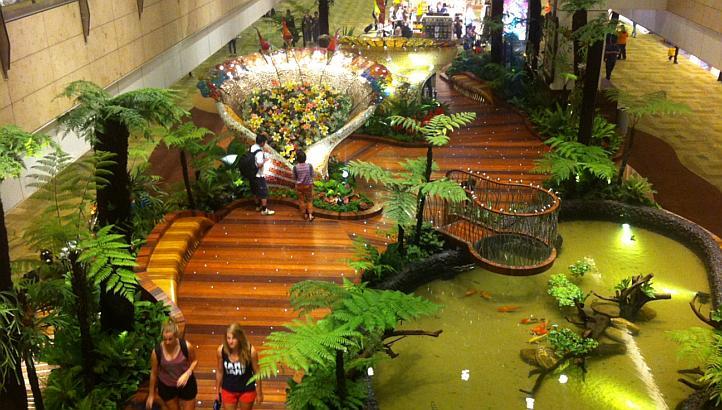 Singapore Changi Airport Nature Trail Enchanted Garden