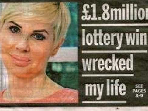 Lottery winner misfortune
