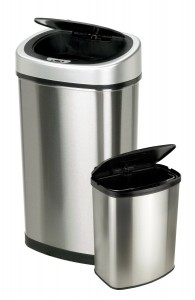 The Nine Stars automatic motion sensor trash can (set of 2) is only selling for $49.98 on Amazon.com.