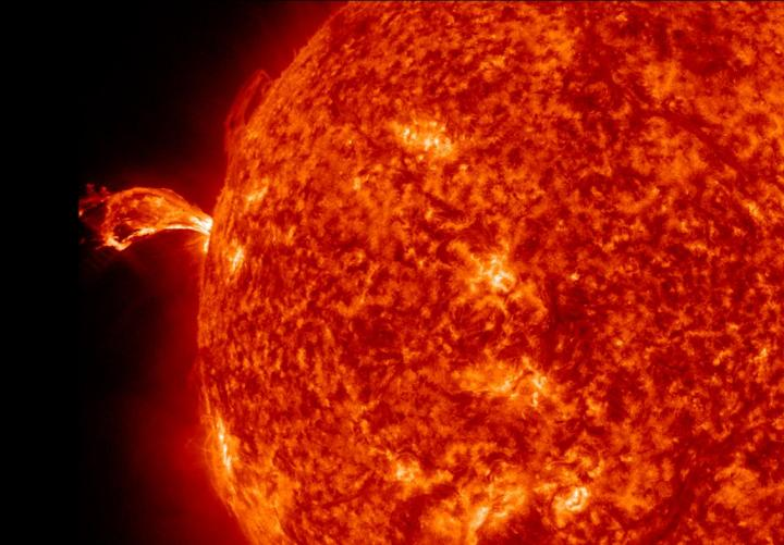 A solar flare is one of many events that can cause a geomagnetic storm.