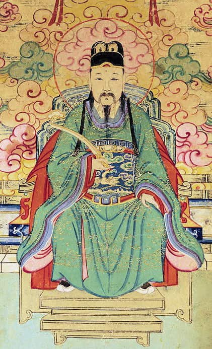 Wen Chang is the name of the God of Culture and Literature in Taoism.