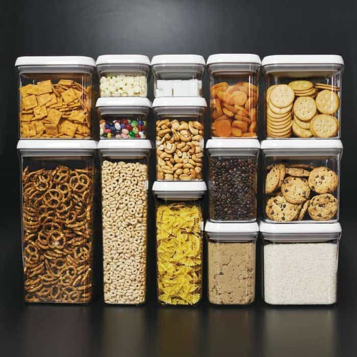 These food containers looks great on photo, but do they fit in your kitchen cabinet?