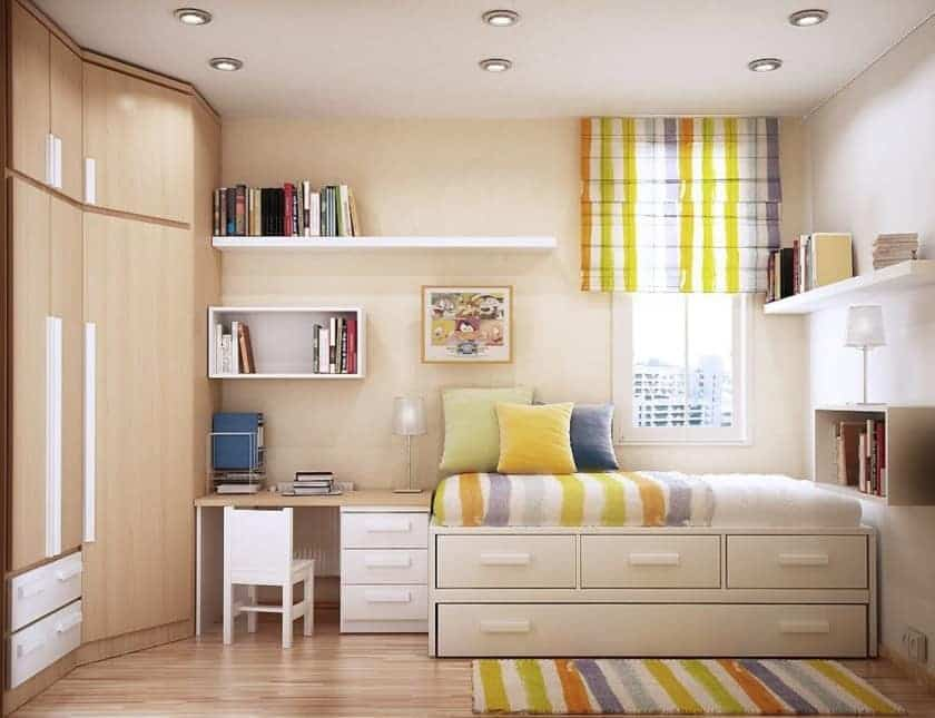 Feng Shui Furniture Arrangement in a Bedroom and Study Room ...