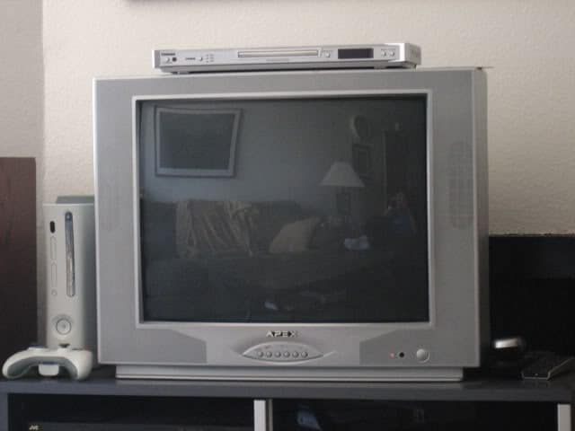 Old School Televisions Have Reflective Properties And Can Be Treated Like Mirrors In Feng Shui