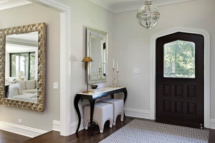 Front Foyer Colours : Feng shui mirror placement rules and tips for your home