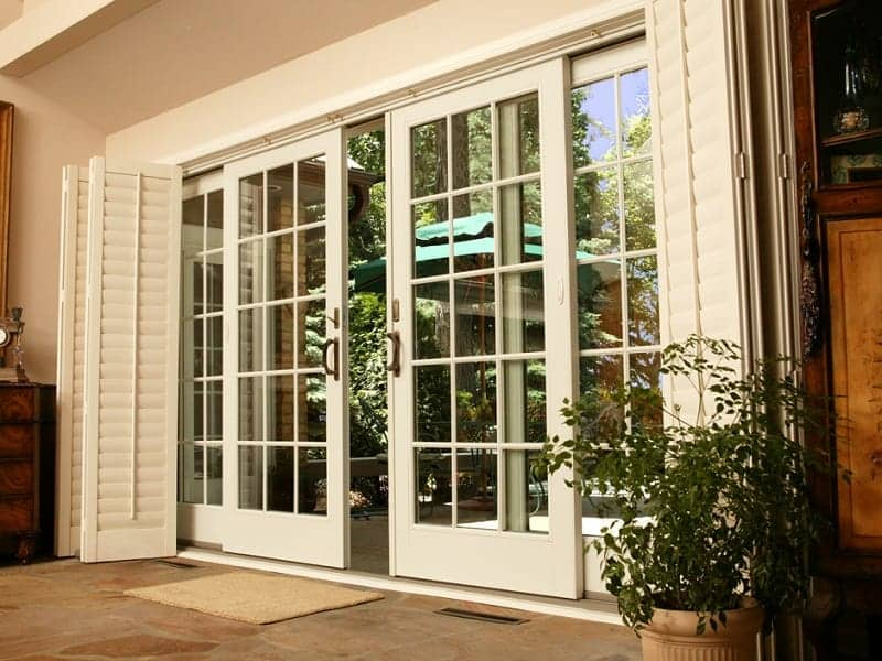 Feng Shui Of French Door With Screens