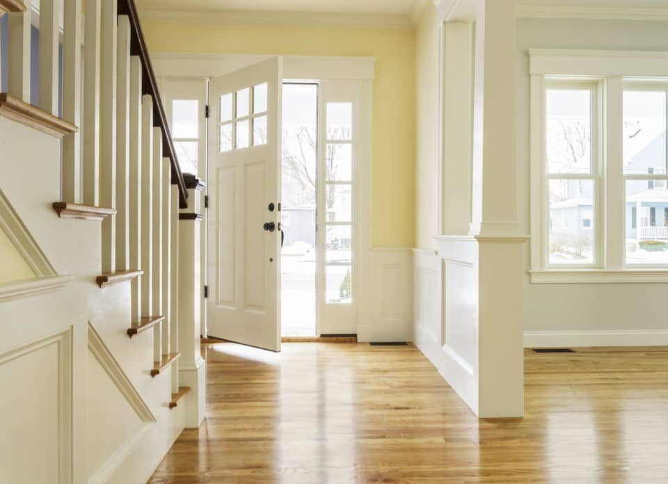 feng shui cure for stairs leading straight out the front