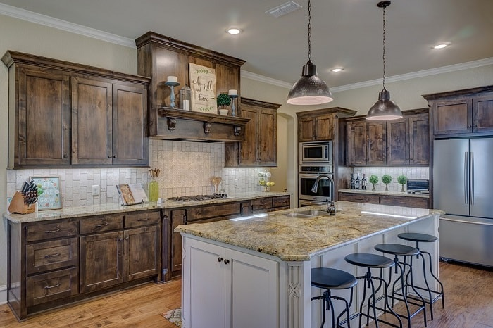 E Between Kitchen Cabinet